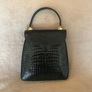Lana Marks Princess Diana Frame Alligator Bag